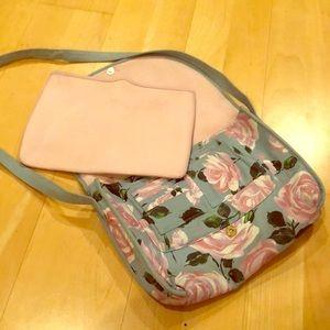 Super cute book bag, with laptop slip